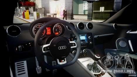 Audi TT RS Coupe v1.0 para GTA 4 visión correcta