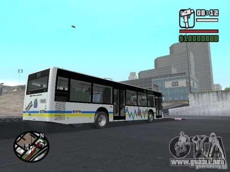 Onibus para visión interna GTA San Andreas