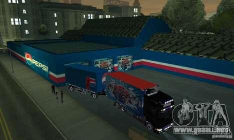 Pepsi Market and Pepsi Truck para GTA San Andreas tercera pantalla