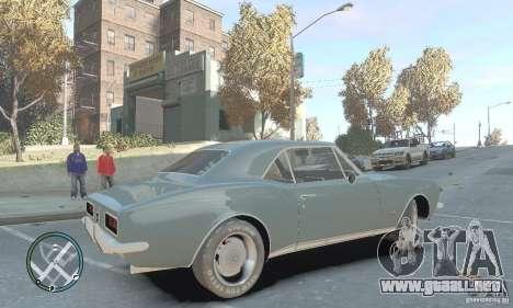 Chevrolet Camaro SS 1969 para GTA 4 left