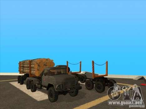 TMZ-802a para GTA San Andreas vista posterior izquierda