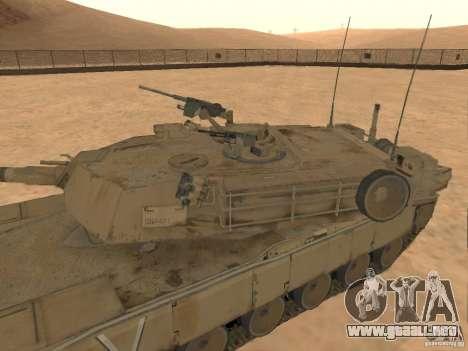 Abrams M1A2 para la visión correcta GTA San Andreas