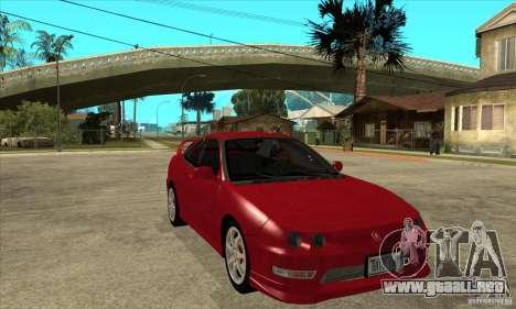 Acura Integra Type-R - Stock para GTA San Andreas vista hacia atrás