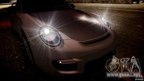 Porsche 911 GT2 RS 2012 para GTA 4 vista hacia atrás