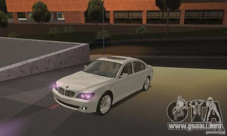Luz púrpura para GTA San Andreas segunda pantalla