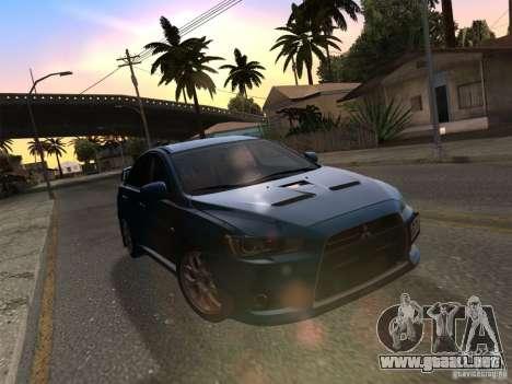 IG ENBSeries v2.0 para GTA San Andreas novena de pantalla