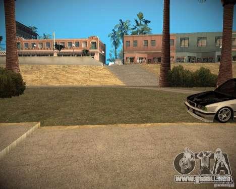 New textures beach of Santa Maria para GTA San Andreas octavo de pantalla