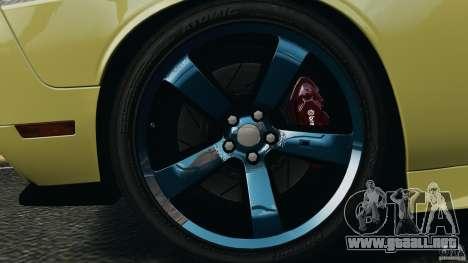 Dodge Rampage Challenger 2011 v1.0 para GTA 4 vista hacia atrás