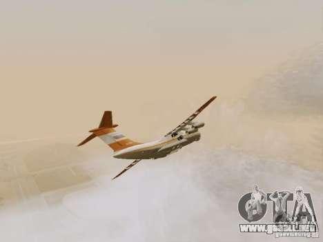 Ilyushin Il-76td para visión interna GTA San Andreas