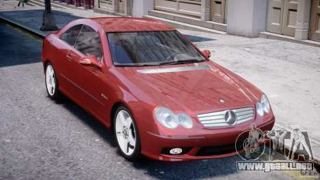 Mercedes-Benz CLK 63 AMG 2005 para GTA 4 vista lateral