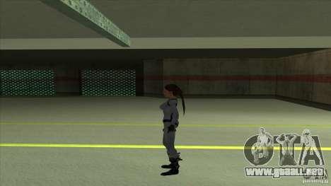 Lara Croft para GTA San Andreas tercera pantalla