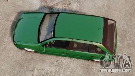 Volkswagen Gol G4 Edit para GTA 4 visión correcta
