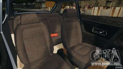 Saab 900 Coupe Turbo para GTA 4 vista interior