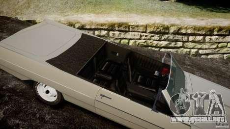 Plymouth Scamp 1971 para GTA 4 vista interior