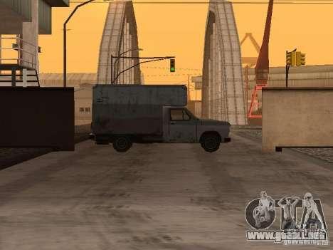 La base militar revivida en muelles v3.0 para GTA San Andreas segunda pantalla