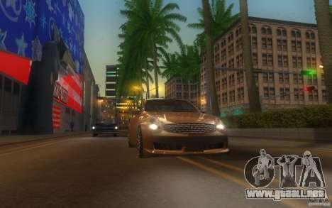 Infiniti G35 - Stock para visión interna GTA San Andreas