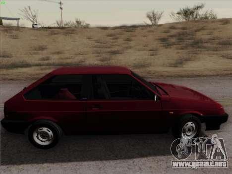 VAZ 21083i para visión interna GTA San Andreas