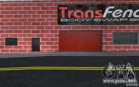 Nuevo concesionario Wang Cars para GTA San Andreas octavo de pantalla