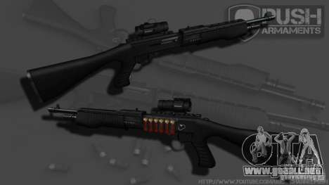 SPAS-12 Tactical para GTA 4 tercera pantalla