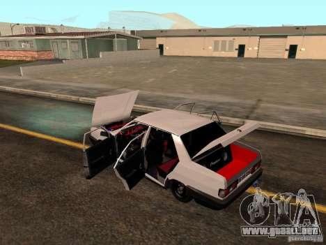 Tofas Sahin DRIFT para vista inferior GTA San Andreas