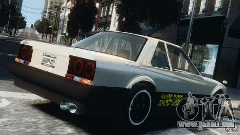 Nissan Skyline RS-X (R30) para GTA 4 left