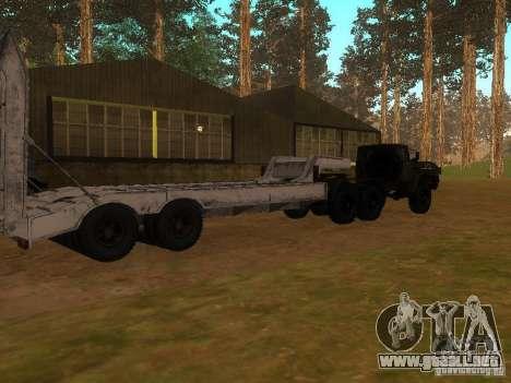 Ural-4420 tractor para visión interna GTA San Andreas