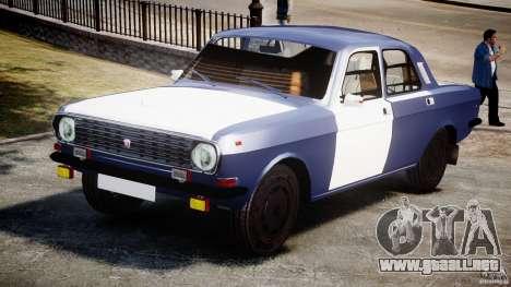 Volga GAZ-2410 1989 v2.1 para GTA 4
