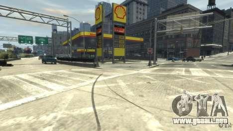 Shell Petrol Station para GTA 4 segundos de pantalla
