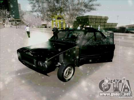 Dacia 1310 Sport para la vista superior GTA San Andreas