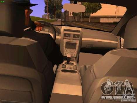 Chevrolet Lumina para GTA San Andreas vista hacia atrás