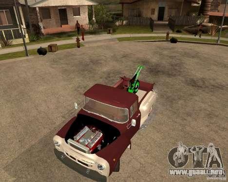 ZIL 130 Tempe ardiente Final para GTA San Andreas vista hacia atrás