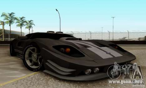 Ford GT Tuning para GTA San Andreas left