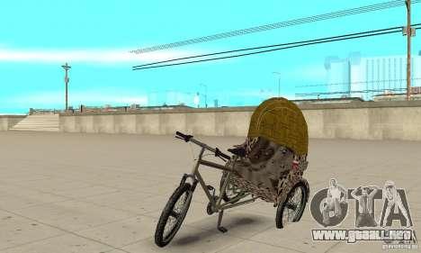 Manual Rickshaw v2 Skin4 para GTA San Andreas