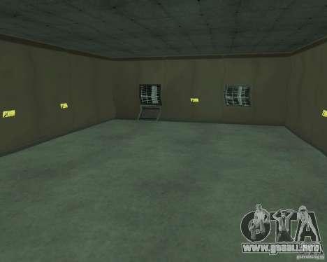 Base del dragón para GTA San Andreas quinta pantalla