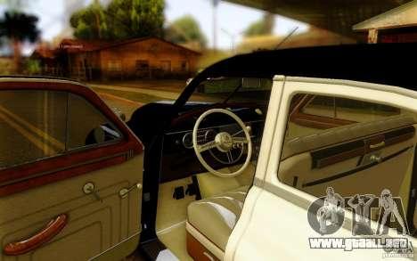 Packard Touring Police para la visión correcta GTA San Andreas