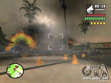 Un paro real para GTA San Andreas tercera pantalla