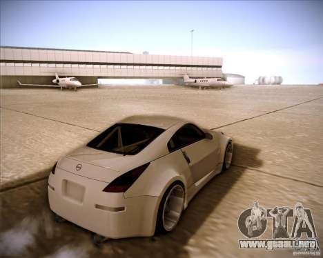 Nissan 350Z AdHoc para GTA San Andreas left