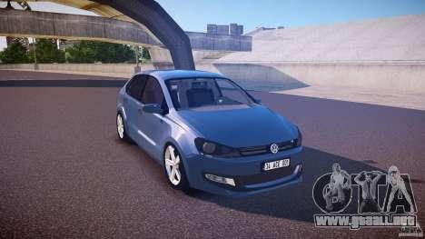 Volkswagen Polo 2011 para GTA 4 vista interior