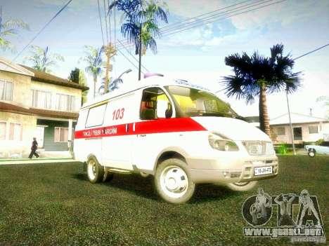 Gacela 2705 BAKU AMBULANS para GTA San Andreas