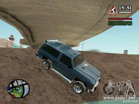 ENBSeries para GForce FX 5200 para GTA San Andreas sucesivamente de pantalla