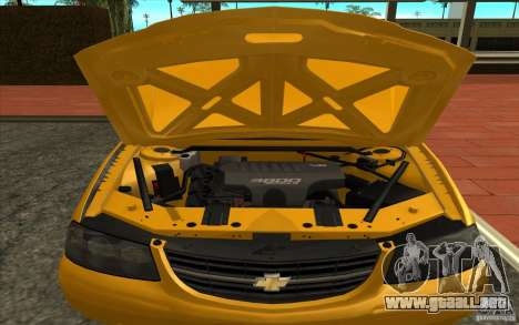 Chevrolet Impala Taxi 2003 para la visión correcta GTA San Andreas