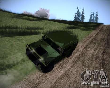 Hummer H1 Alpha para la visión correcta GTA San Andreas