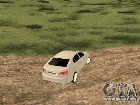 Lexus GS-350 para la visión correcta GTA San Andreas