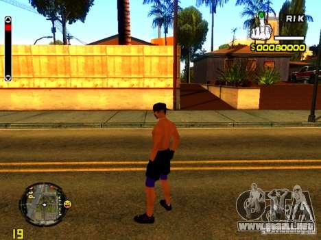 Gente de playa para GTA San Andreas tercera pantalla