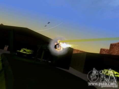 Suv Call Of Duty Modern Warfare 3 para GTA San Andreas left