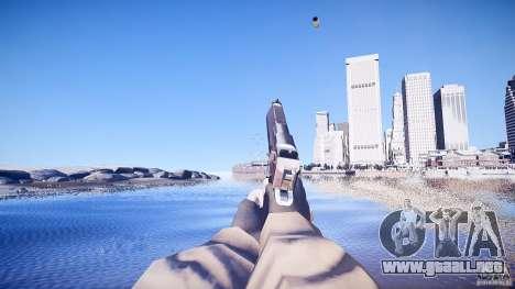 Nuevo Deagle para GTA 4 adelante de pantalla