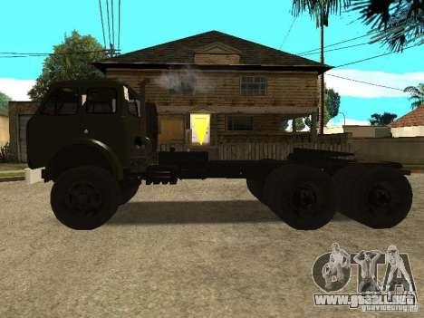 MAZ 515V para GTA San Andreas left