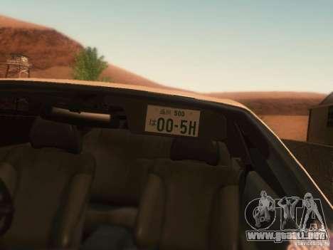 Nissan Skyline GTS R32 JDM para la visión correcta GTA San Andreas