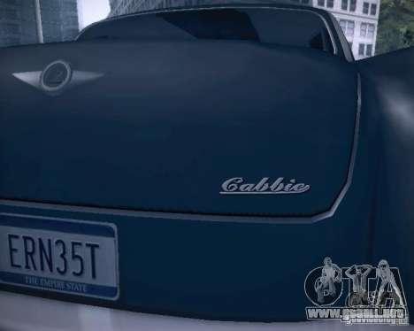 Diablo Cabbie HD para las ruedas de GTA San Andreas