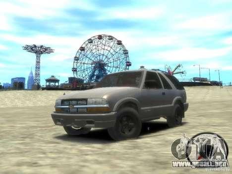 Chevrolet Blazer LS 2dr 4x4 para GTA 4